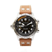 Hamilton H77755533 Acier Khaki X-Wind 45mm nouveau