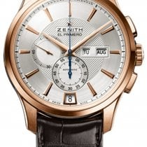 Zenith El Primero Winsor Annual Calendar Rose gold Silver United States of America, Florida, North Miami Beach