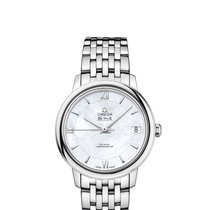 Omega De Ville Prestige Steel 32.7mm Mother of pearl