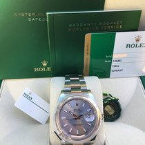 Rolex Datejust Gold/Steel 41mm Pink No numerals United States of America, California, Costa Mesa