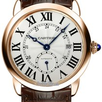 Cartier Ronde Louis Cartier Rose gold 40mm Silver United States of America, New York, Airmont