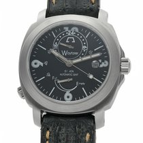 Anonimo Wayfarer Steel 43mm Black Arabic numerals United States of America, New York, New York