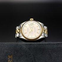 "Rolex Vintage DateJust 2tone ""Silver Grey Dial"""