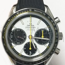 Omega SPEEDMASTER RACING Chronograph Co-Axial 40MM - Black/White