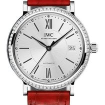 IWC IW458109 Portofino Midsize 37mm Automatic in Steel with...
