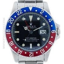 Rolex stainless steel vintage 1967 GMT-Master