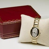 Cartier Baignoire Oro amarillo 22mm Blanco Romanos