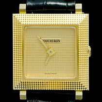 Boucheron Yellow gold 23mm Quartz pre-owned