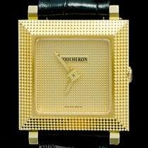 Boucheron Gult gull 23mm Kvarts brukt