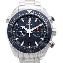 Omega 215.30.46.51.03.001 Acier 2020 Seamaster Planet Ocean Chronograph 45.5mm nouveau
