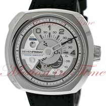 Sevenfriday Steel 44.3mm Automatic V1/01 pre-owned United States of America, New York, New York
