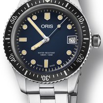 Oris 01 733 7747 4055-07 8 17 18 Steel Divers Sixty Five new
