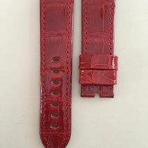 Panerai Brillant Red Alligator Strap 24/22mm 115/75cm