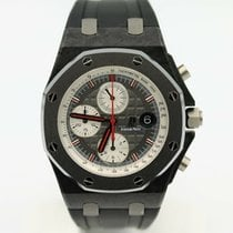 Audemars Piguet Royal Oak Offshore Chronograph Carbon 42mm Grau