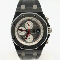 Audemars Piguet Carbon Chronograph Grau 42mm gebraucht Royal Oak Offshore Chronograph