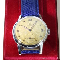 Omega 34mm Remontage manuel 1950 occasion Champagne