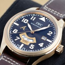 IWC Pilot Rose gold 44mm Brown Arabic numerals