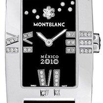 Montblanc Profile Steel 24mm Black Roman numerals United States of America, California, Moorpark