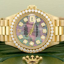 Rolex Lady-Datejust Oro amarillo 26mm Madreperla