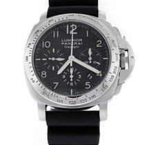 Panerai Chronograph 44mm Automatic pre-owned Luminor Chrono