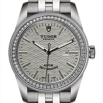 Tudor Glamour Date new Automatic Watch with original box and original papers 53020-0001