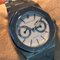 Audemars Piguet Royal Oak Day-Date Steel 37mm White No numerals