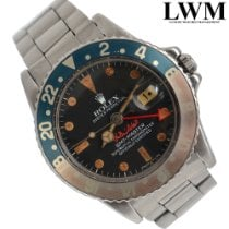 Rolex 1675 Steel 1971 GMT-Master 40mm pre-owned