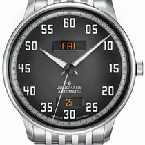 Junghans Meister Driver Steel 40.4mm Grey United States of America, New Jersey, Cherry Hill