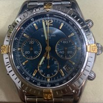 Breitling Chrono Cockpit Steel 38mm Blue No numerals