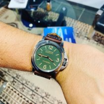 Panerai Luminor Marina 8 Days Acier 44mm Vert Arabes France, Marseille
