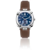 Michel Herbelin Steel Quartz Blue Roman numerals 38mm new Newport (submodel)