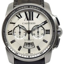Cartier Calibre de Cartier Chronograph W7100046 2017 pre-owned
