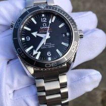 Omega Seamaster Planet Ocean Acier 42mm Noir Arabes France, Cornebarrieu