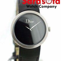 Dior La D De Dior Stal 33mm Czarny
