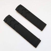 Tissot Зап.части/Детали Мужские часы/часы унисекс новые Каучук Черный PRS 516