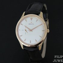 Zenith Elite Ultra Thin Or rose 40mm Blanc