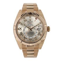 Rolex SKY-DWELLER 42mm Rose Gold Watch 326935