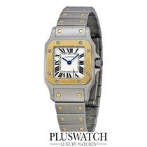 Cartier Santos Galbée new Quartz Watch with original box and original papers W20012C4