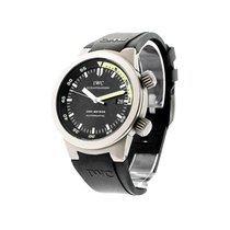 IWC IW353804 Aquatimer in Titanium - on Black Rubber Strap...