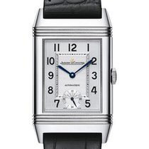Jaeger-LeCoultre Grande Reverso Night & Day Steel 27.4mm Silver Arabic numerals