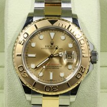 Rolex Yacht-Master 40 Gold/Steel 40mm Champagne No numerals United States of America, Florida, Miami