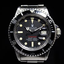 Rolex Submariner 1680 Red with Box and Papers