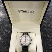TAG Heuer Aluminium Remontage automatique Blanc Arabes occasion Carrera Calibre 16