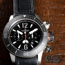 Jaeger-LeCoultre pre-owned Master Compressor Diving Chronograph GMT Navy SEALs