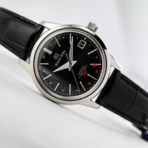 Seiko Grand Seiko Steel 39.5mm Black No numerals United States of America, New Jersey, Princeton