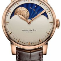 Arnold & Son Rose gold Manual winding 1GLAR.I01A.C122A new