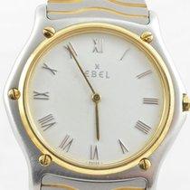 Ebel Sport Classique Herren Uhr Stahl/750 Gold 183903 37mm Top...