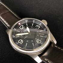 Oris Big Crown Timer pre-owned 44mm Leather