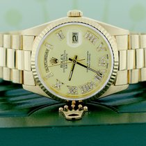 Rolex Day-Date 36 Yellow gold 36mm Champagne Roman numerals