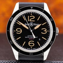 Bell & Ross 43mm Automatic pre-owned Vintage Black